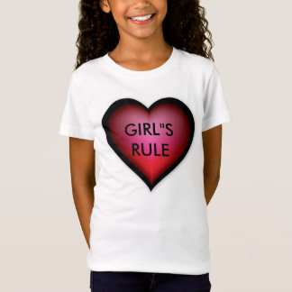 Girls Rule Heart/Youth Shirt