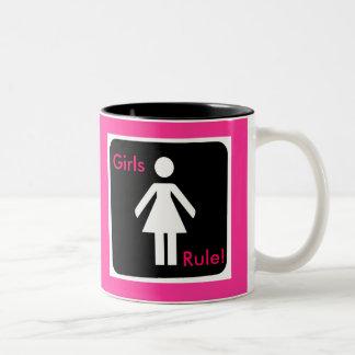Girls Rule Junior Feminist Cup Mug