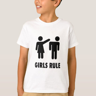 Girls Rule Print T-Shirt