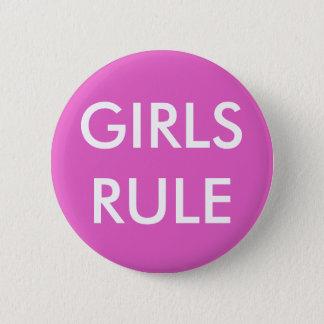 GIRLS RULE Standard Round Button