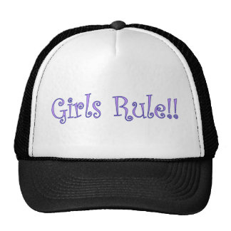 Girls Rule! Trucker Hat