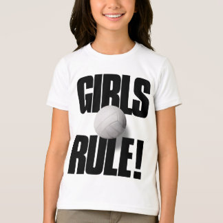 GIRLS RULE! Volleyball T-Shirt