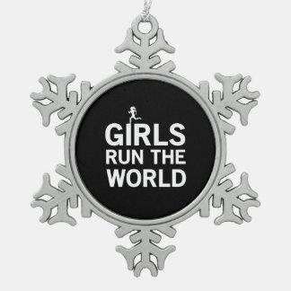 Girls Run the World Ornaments