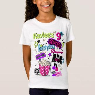 Girls Slumber Party Shirt Girls Sleepover T-shirt