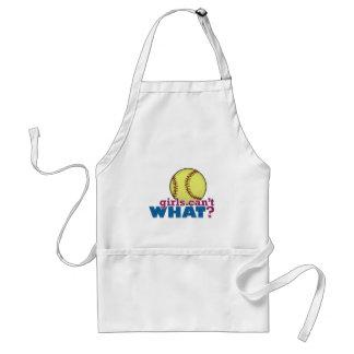 Girls Softball Aprons