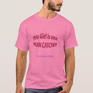 GIrls softball Catcher Shirt , Backwoods 2007