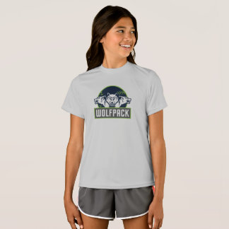 Girls' Sport-Tek Competitor WolfPack T-Shirt
