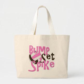 Girls Sports Large Tote Bag