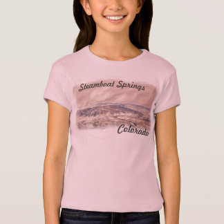 Girls Steamboat Springs shirt