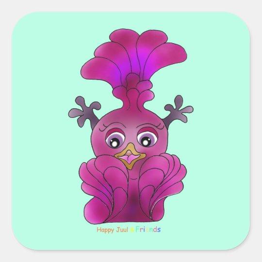 "Girl's Sticker ""Lila"""