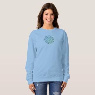 Girls Sweatshirt navyblue  custom