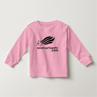 girls t-shirt america's team fc
