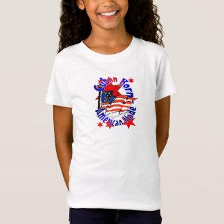 Girls T-Shirt Cuban American