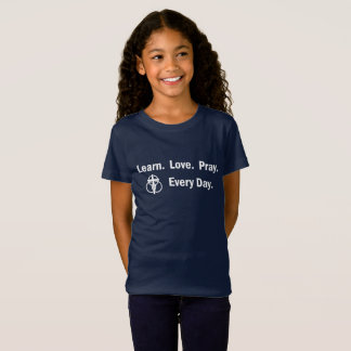 Girl's T-shirt: Learn Love Pray T-Shirt