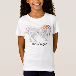 Girls' T-Shirt, orig. art of stylized horse T-Shirt