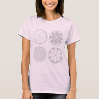 Girls t-shirt PINK with  fruit
