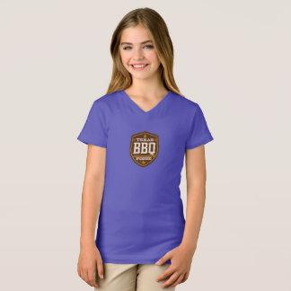 Girls t-shirt - Texas BBQ Posse Logo