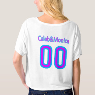 (Girls t shirt) with Caleb monica logo T-shirt