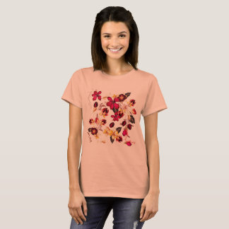 Girls t-shirt with flowers