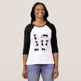 Girls t-shirt with Kittens