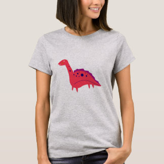 Girls t-shirt with Red Dino