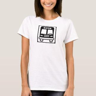 Girls tank bus icon