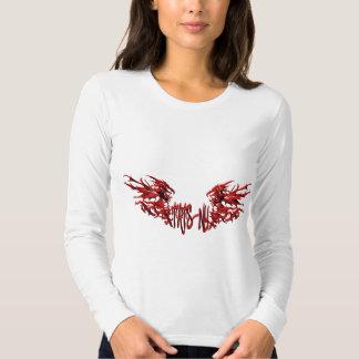 Girls TatsNY Sword & Full Dragon Front Tshirts