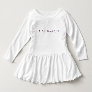"Girl's Toddler ""TINY DANCER"" Ruffle Dress"