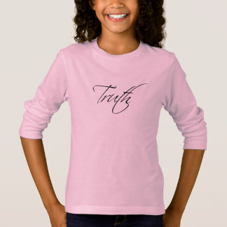 Girls Truth T-Shirt in Pink
