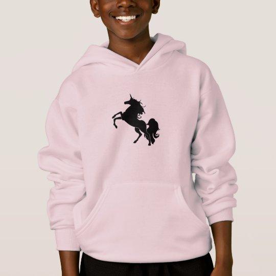 Girls unicorn hoody