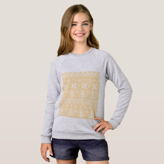 Girls vintage sweatshirt : Nordic