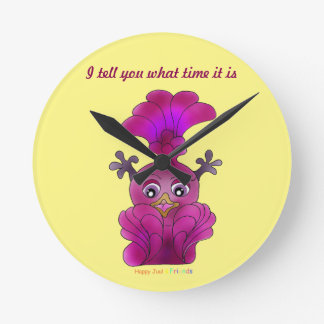 "Girls Wall Clock ""Lila"""