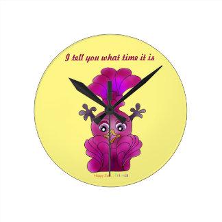 "Girls Wall Clock ""Lila"""