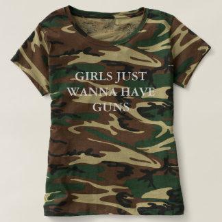 GIRLS WANNA HAVE GUNS T-SHIRT
