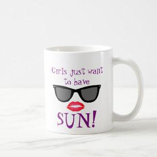 Girls Want Sun Mug