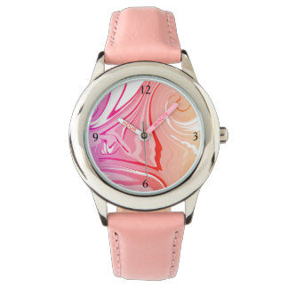 Girls Watch custom pink