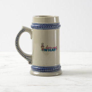 Girls Water Polo Beer Stein