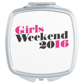 Girls weekend 2016 vacation vanity mirrors