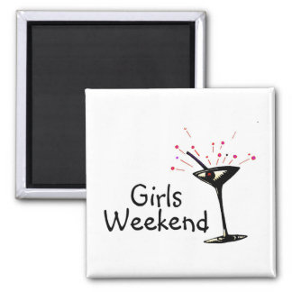 Girls Weekend (Martini 1) Magnet