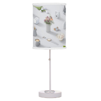 Girl's White Dream Table Lamp