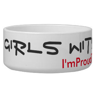 Girls with tails rule! pet bowl