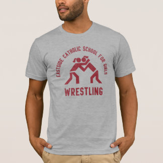 Girls Wrestling Squad T-Shirt