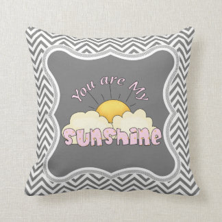 Girls You are My Sunshine Pillow