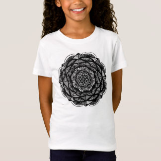 Girls Youth Fitted T-shirt