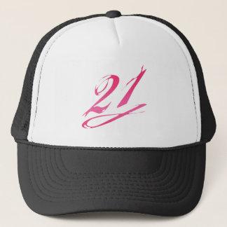 Girly 21st Birthday Trucker Hat