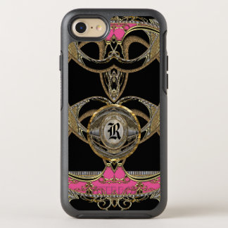 Girly Adelines Best at Show Pretty Girl Monogram OtterBox Symmetry iPhone 7 Case