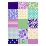 Girly and Fresh Pattern Squares Vector Quilt