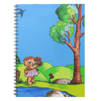 Girly Bear Notebook