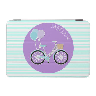 Girly Bike and Stripes iPad Mini Smart Cover iPad Mini Cover