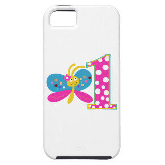 Girly Butterfly First Birthday iPhone 5 Covers